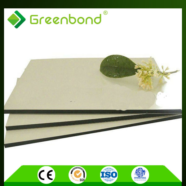Greenbond aluminum corrugated exterior wall cladding panel acm panels
