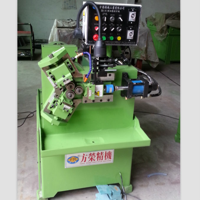 Hydraulic nut bolt making thread rolling machine FR-30*50