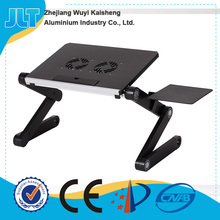 Many color to choose flexible folding laptop stand for bed