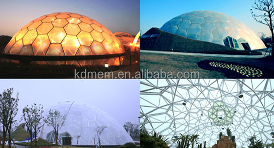 ETFE greenhouse film for roof facade
