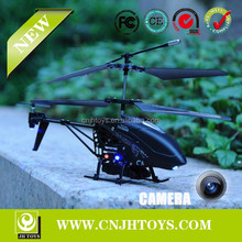 LH1101D 3.5 Channel Metal With Light And Gyro RC Helicopter With Camera