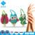 Funny mini cute hanging waterless pocketbac animal silicone minion hand sanitizer silicone holders