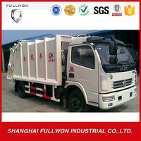DongFeng 8 m3 compressed rubbish garbage vehicle CLQ5110ZYS4