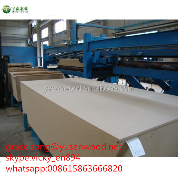 standard size super quality waterproof raw MDF wood price