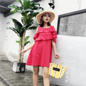 New hot sell floral casual woman dress