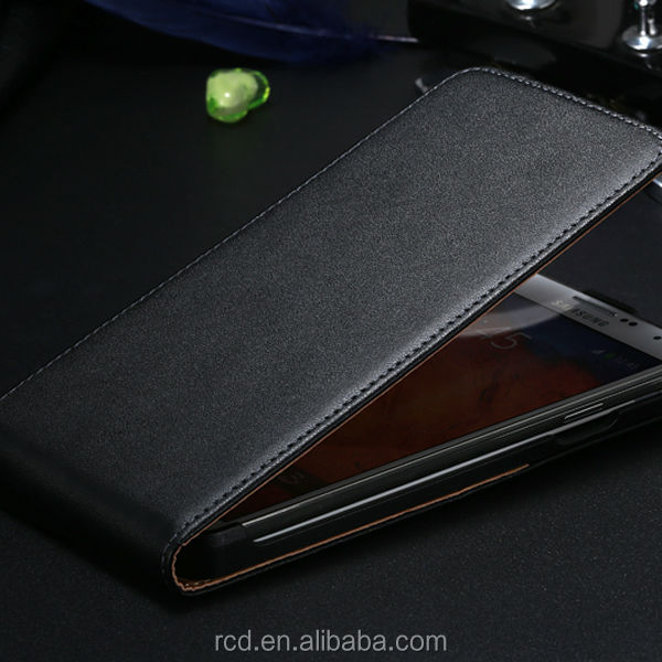 Hot Genuine Real Leather Mobile Phone Cover Case For Samsung Galaxy Note 3 N9000 Note 2 N7100 RCD03473