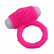 Girl Sexy Pictures Sex Toy for Man Silicone Vibrating Penis Ring Sex Ring