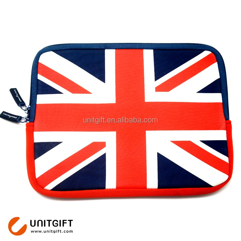 Custom made neoprene laptop sleeve waterproof small trolley bag