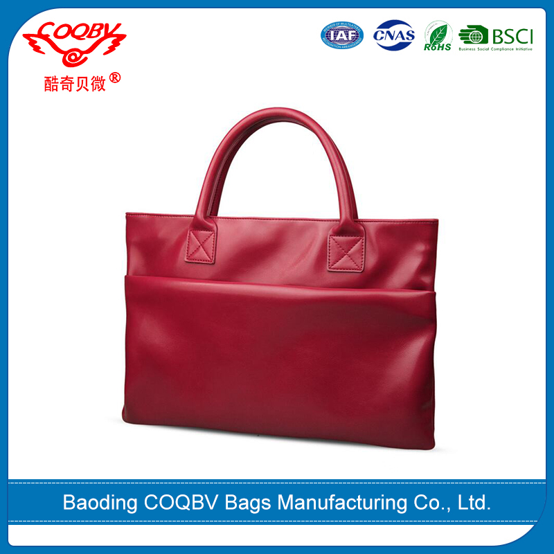 COQBV colorful new style cheap laptop bags genuine leather