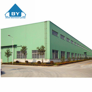 Made In China Large Span Steel Structure Warehouse Building