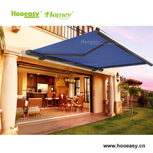 Homey customized supplier various type aluminum awning motorized