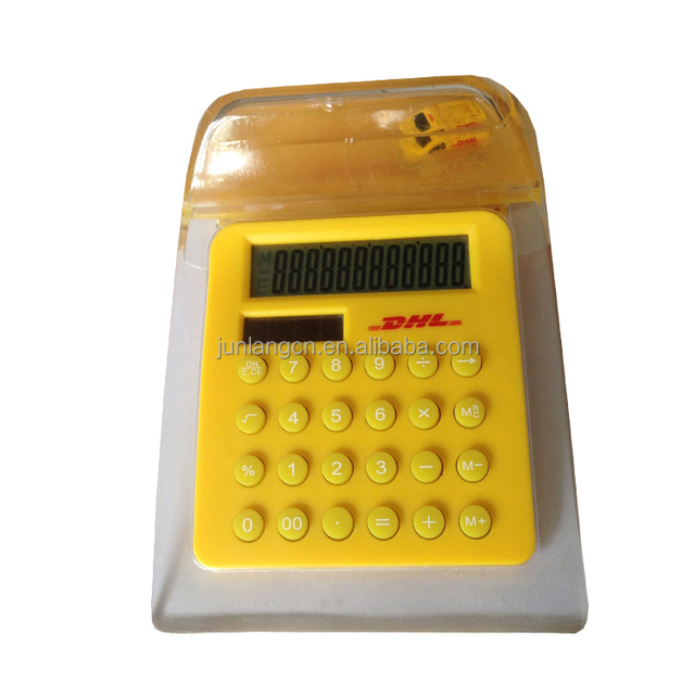 12 Digit Customized Liquid Calculator Promotional Gift Calculator