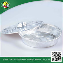 New style unique cheap aluminum foil container takeaway