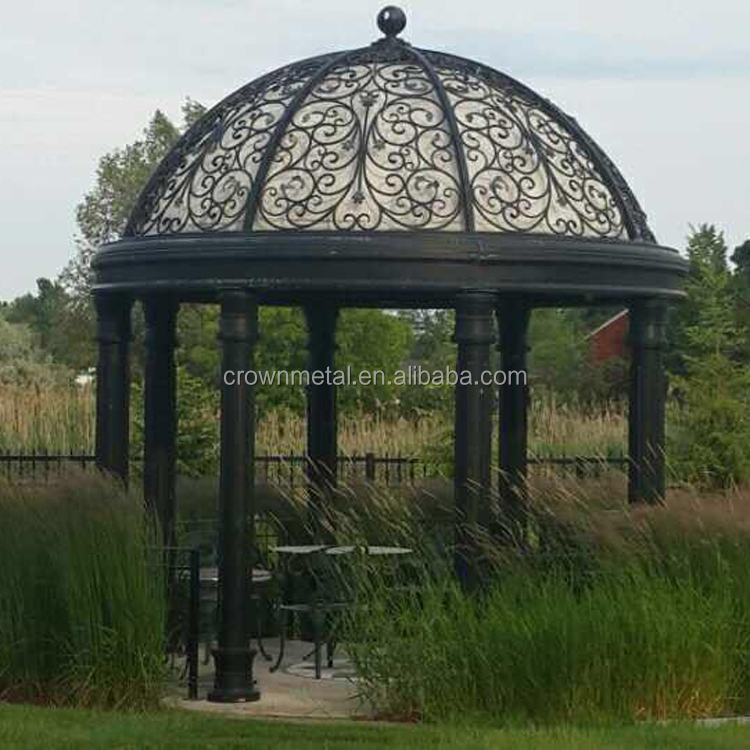 iron gazebo decoration wrought iron dome dome gazebo for sale