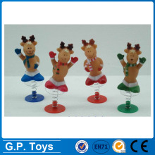 Christmas Party jumping deer plastic promotion mini toys