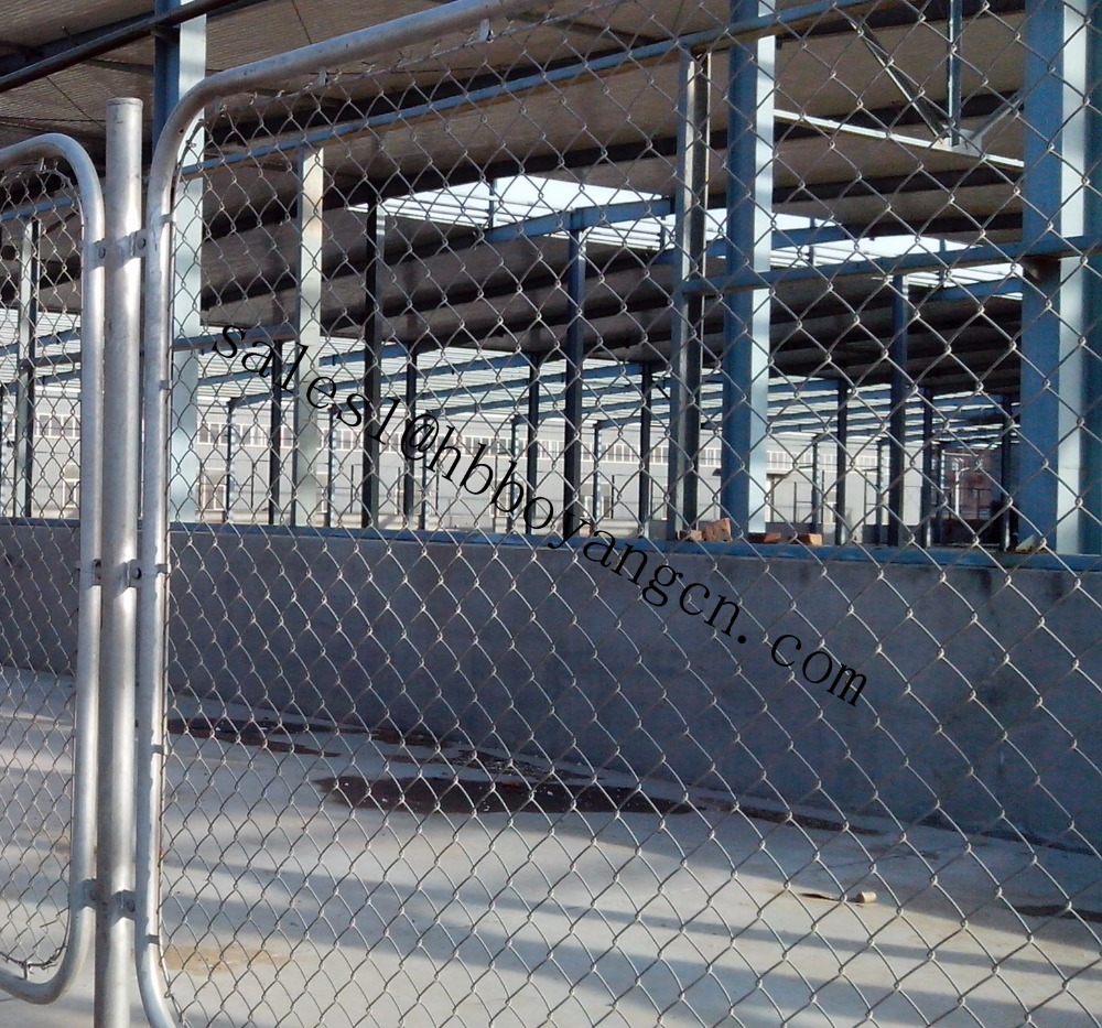 industrial safety fence chain link fence security fencing with high quality