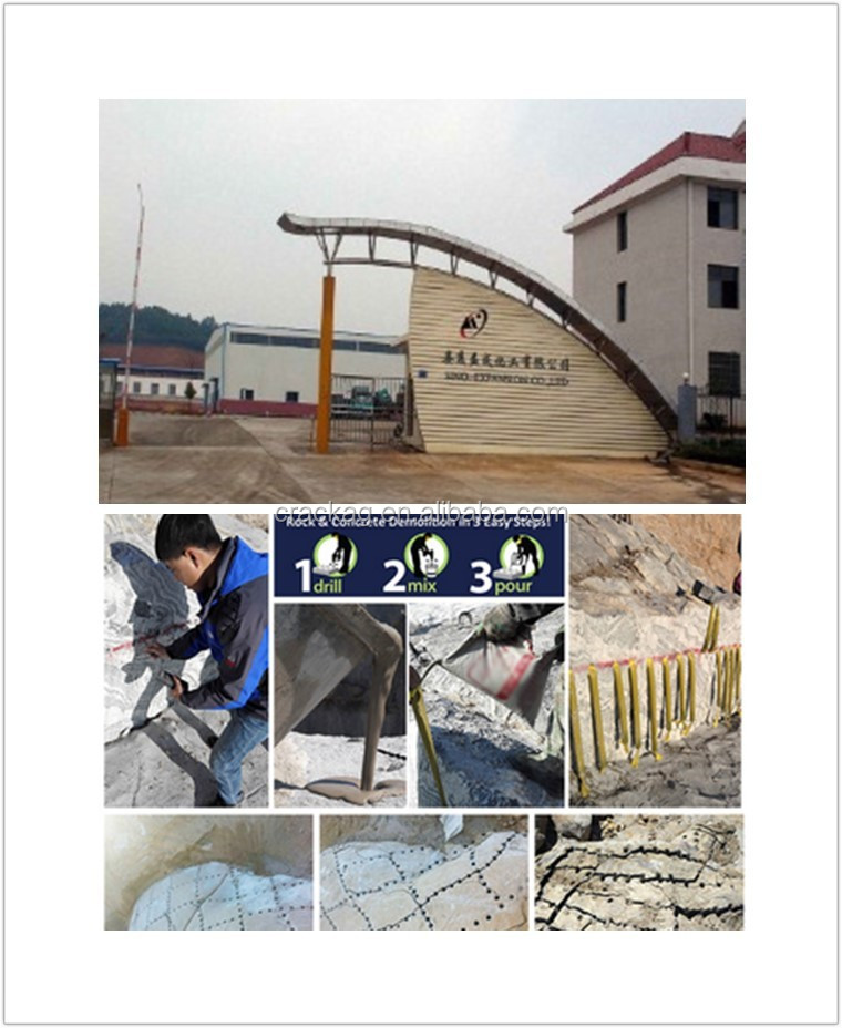 Economic latest non-explosive blasting demolition agent