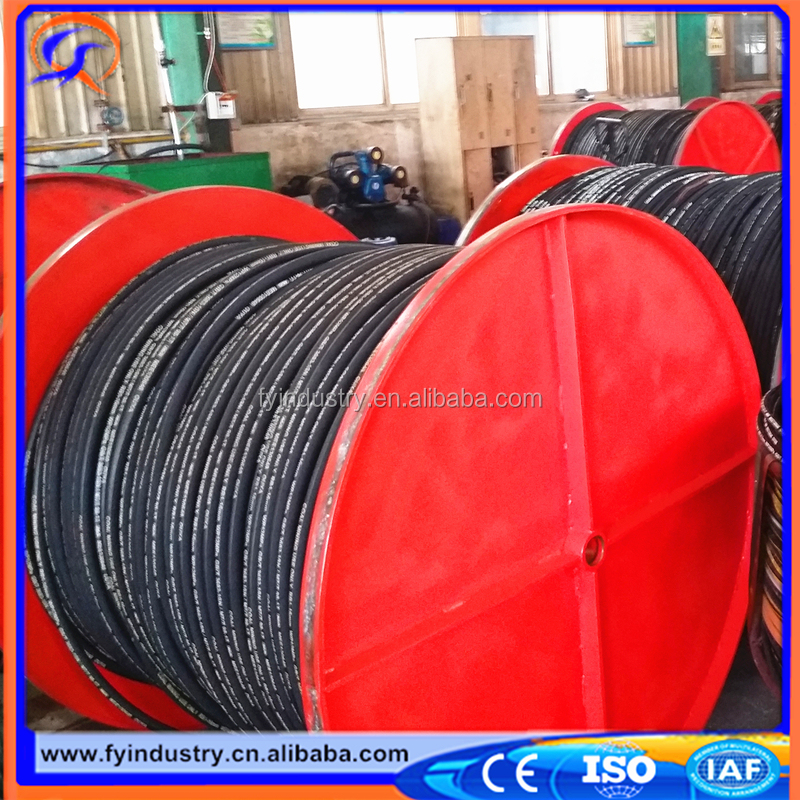 2017 factory Lowest price wholesale certificated flexible steel wire reinforced hyd rubber hose