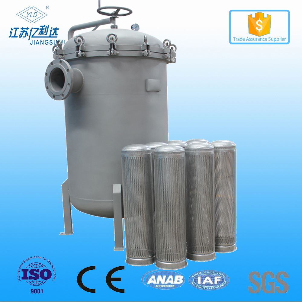 Stainless Steel Bag Filter 316 Housing Manufacturer