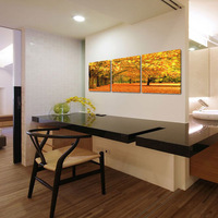 Crystal 5D diamond painting for room decoration autumn landscape no frame