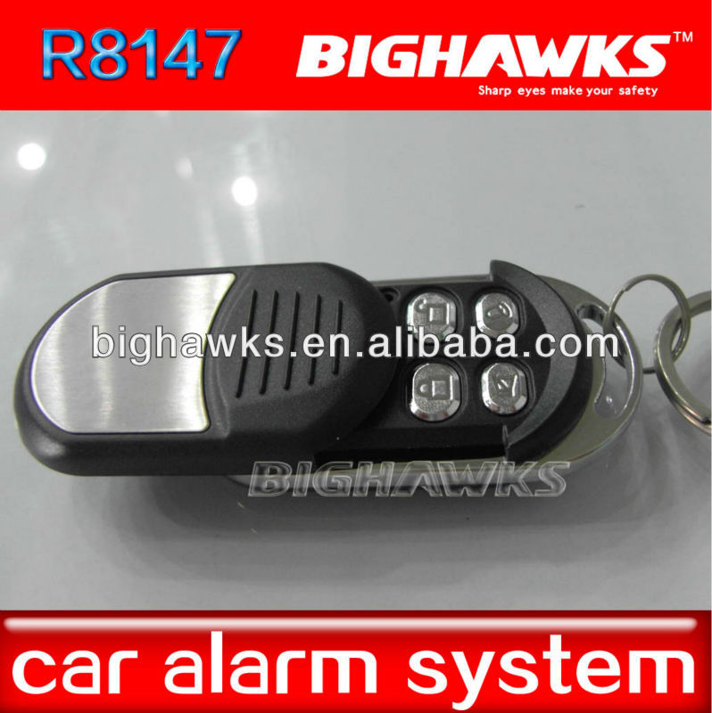 remote starter for motorcycle BIGHAWKS CA702-8147 remote control one way car alarm security system