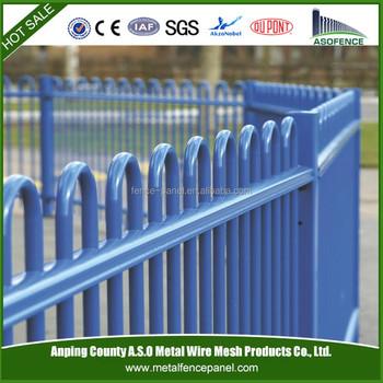 No Dig Garden Fence / Galvanized Iron Fence Prices / Decorative Iron Garden  Fencing