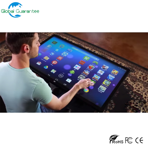 LCD android/pc touch screen table with video game