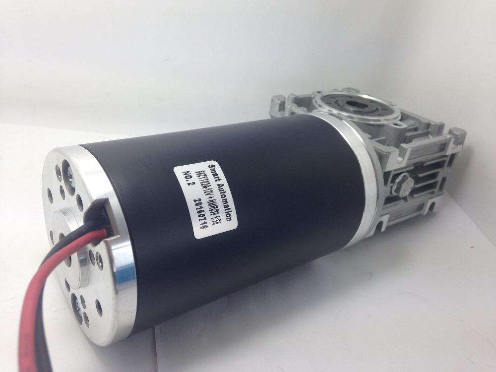 80mm High Torque 12v 24v DC Gear Motor Brushless & Brushed with Power 50w to 500w
