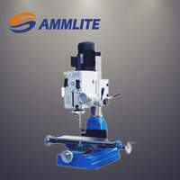 Mini small drilling and milling machine tapping boring press cnc benchtop hobby vertical mill drill zay7032g zay7045fg zx45