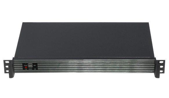 1U RACKMOUNT SERVER CASE/chassis TOP1U250 With Fan Style and USB Ports
