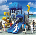 LLDPE children outdoor playground equipment for sale