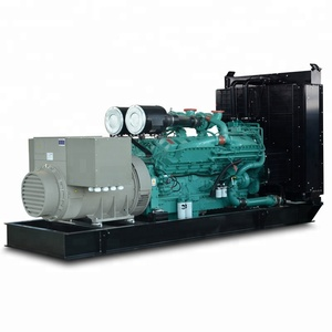 Powered by Cummins engine KTA50-G9 generator 60 hz 1500 kw 1875 kva diesel genset for sale