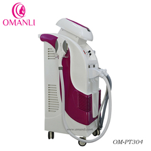 OPT SHR + Elight IPL+ RF + Nd Yag Laser Multi-functional Beauty Equipment Hair Removal Machine for Sale