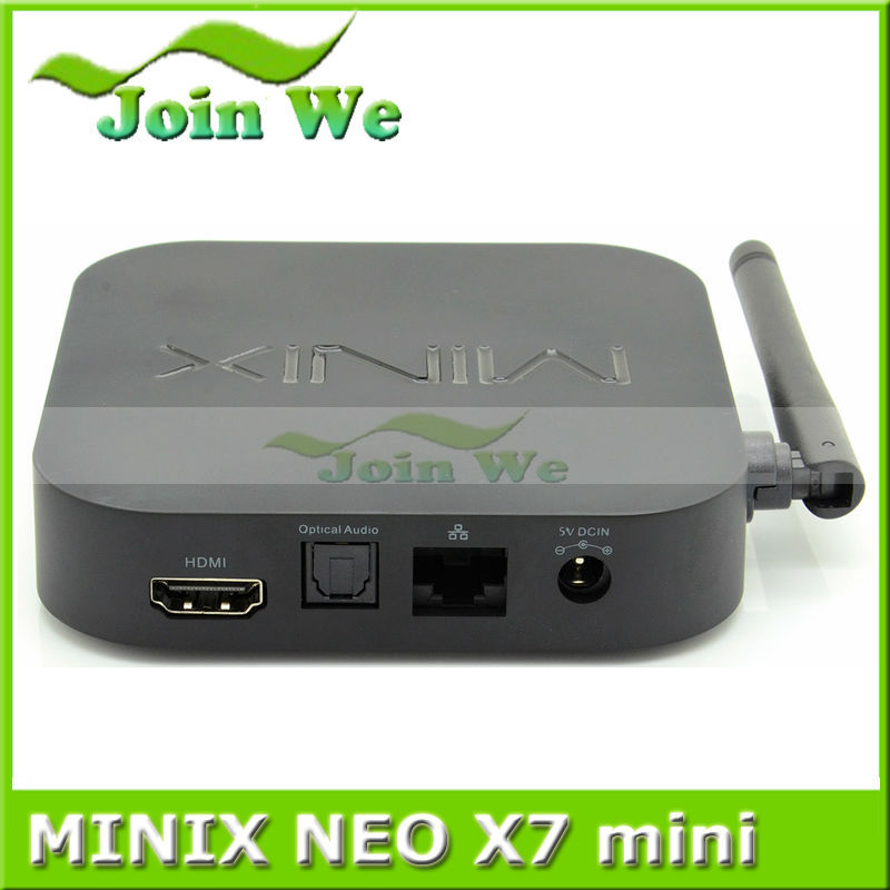 MINIX NEO X7 mini Quad Core Android TV Box RK3188 TV BOX Andriod 4.4 WiFi Bluetooth 2G/8G USB RJ45 OTG Optical XBMC