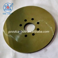 Tungsten carbide cutter with 8 holes