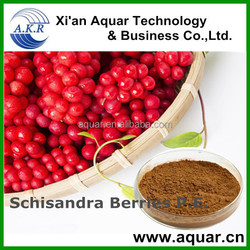 Hot Sale High quality Schisandra Berries P.E./schizandra extract for Promote liver cell regeneration