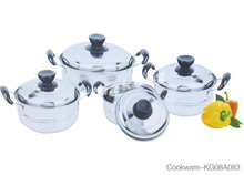 Hot Sales Professional 8Pcs European Cookware, Cooking Pot Parts Made In China