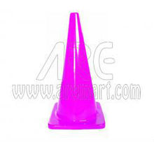Pink Safety traffic cone