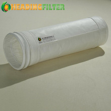 Heading Filter polyester needle punched felt PTFE membrane filter bag
