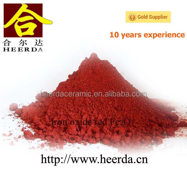 Iron oxide red pigment powder Fe2O3