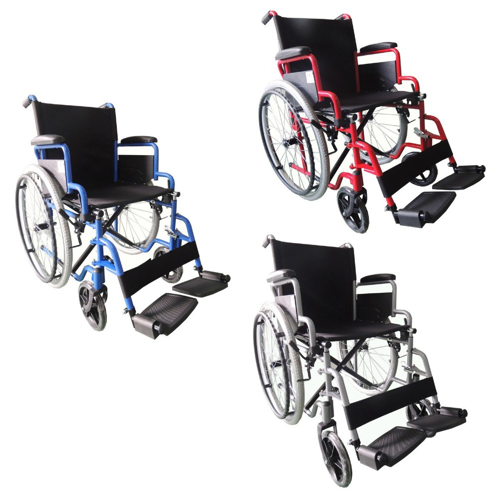 Chrome wheelchair, Manual Wheelchair, different size wheelchair