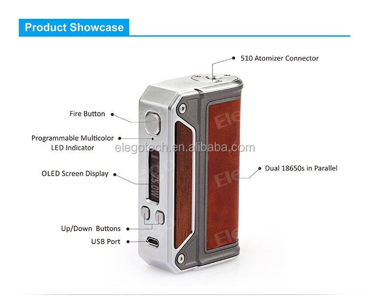 2016 Hot Selling Genuine Lost Vape Therion DNA166 Box Mod Wholesale