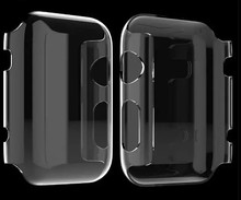 Crystal Transparent Hard Plastic Case for Apple Watch 38mm