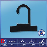 small plastic pp black bag hook hanger