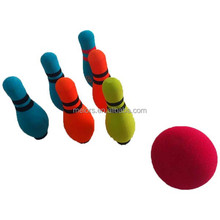 High quality Non toxic mini bowling ball and pins set