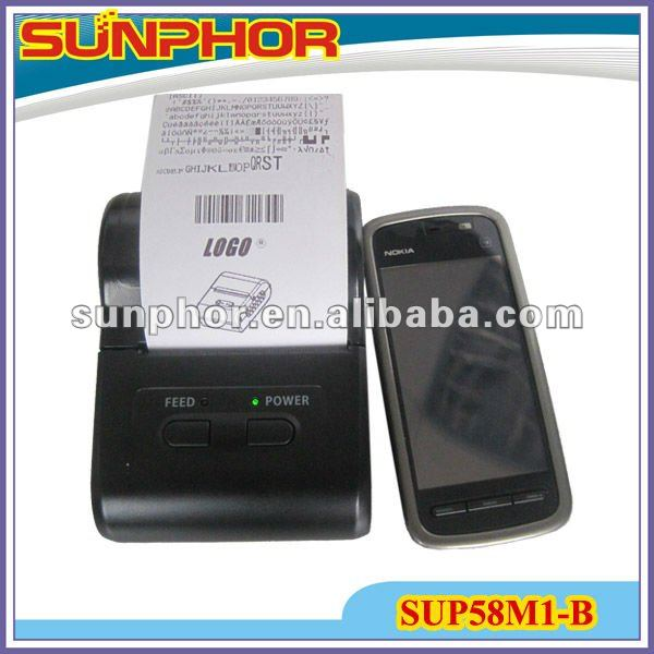 Mobile Ticket Printer support android,symbian,java etc SUP58M1-B