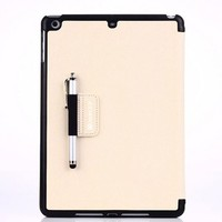 HIgh quality decent design leather tablet back cover case for Apple Ipad air