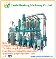corn grits and corn roller flour mill machine for feed processing