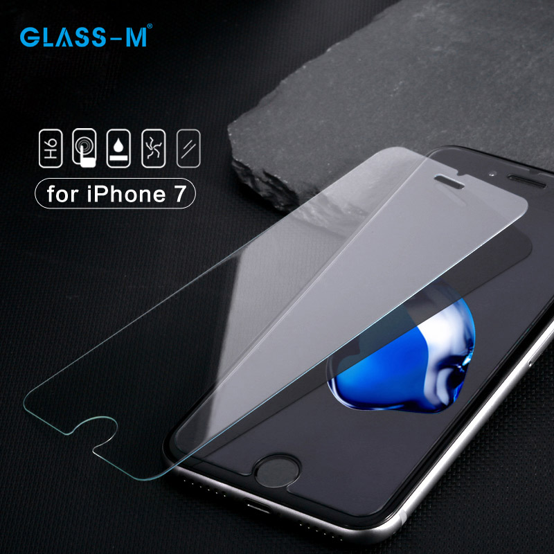 Newest Best Anti-Fingerprint Tempered Glass Cell Phone Screen Protector for iPhone 7