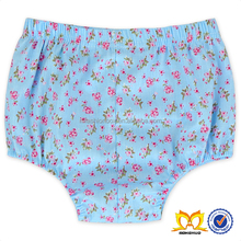 2016 New Fashion Baby Kids Sky Blue Shorts Printed Small Flower Baby Girl Shorts